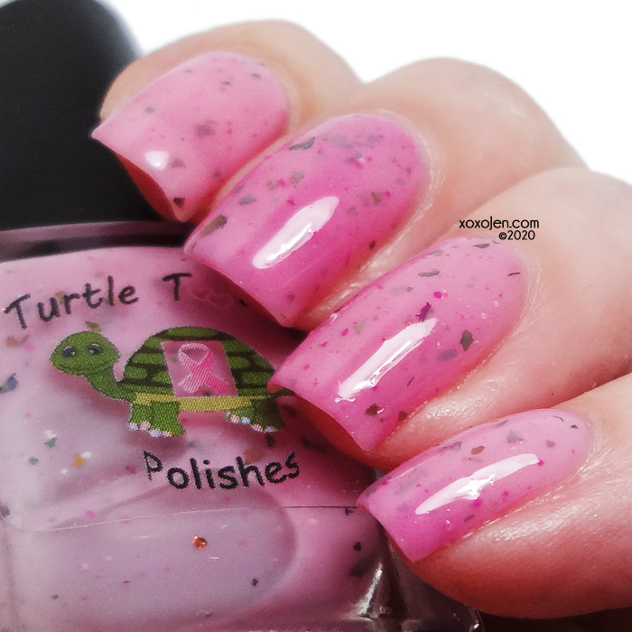 xoxoJen's swatch of Turtle Tootsie 8 Year Survivor!