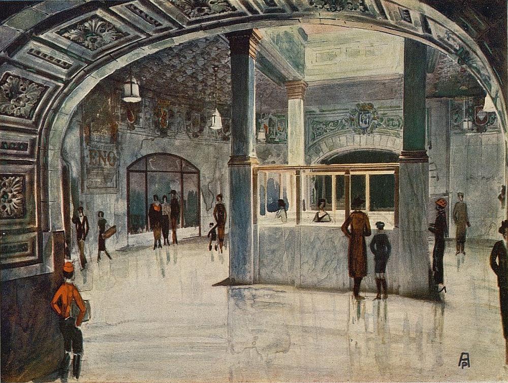Reconstrucción del vestíbulo de la estación de Metro de Sol