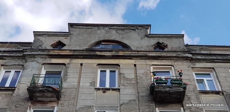 Warszawa Warsaw Praga Północ praskie ulice kamienica architektura praskie klimaty balkon