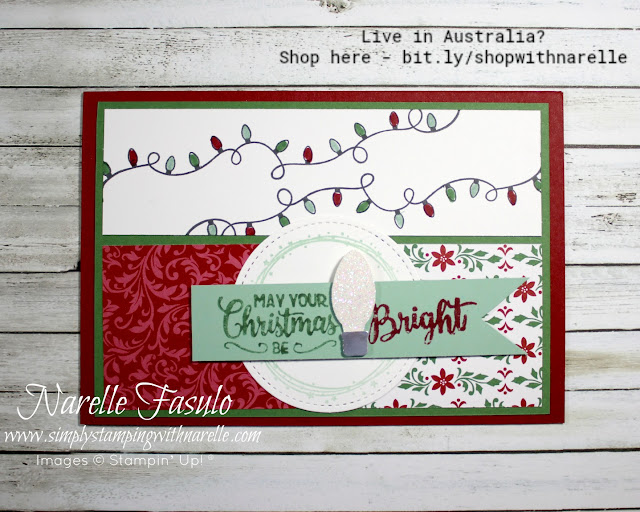 Want your Christmas card making this year simplified? Then join my Making Christmas Bright Online Class. You get the stamp set and punch, along with eight project kits with step by step video tutorials - http://bit.ly/MakingChristmasBrightOnlineClass