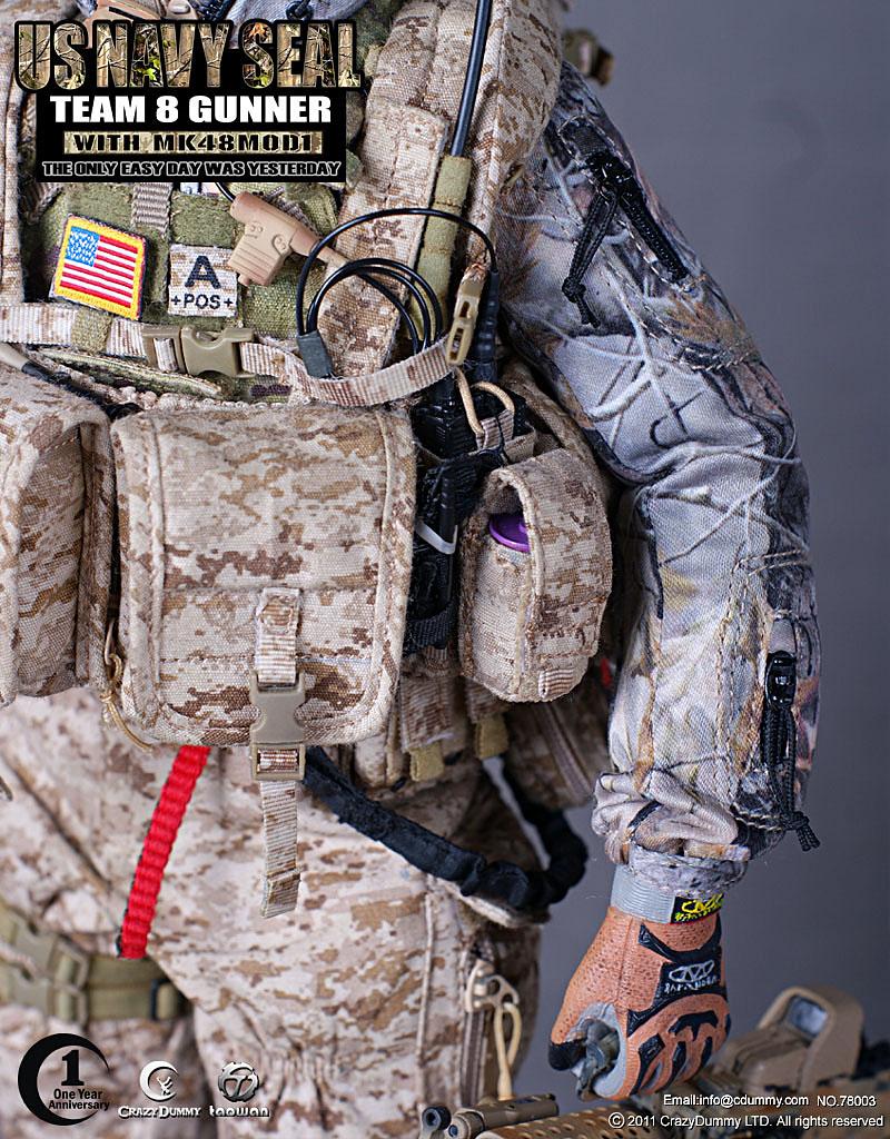 Top Good Stuff: US Navy SEAL Team 8 Gunner with MK48MOD1