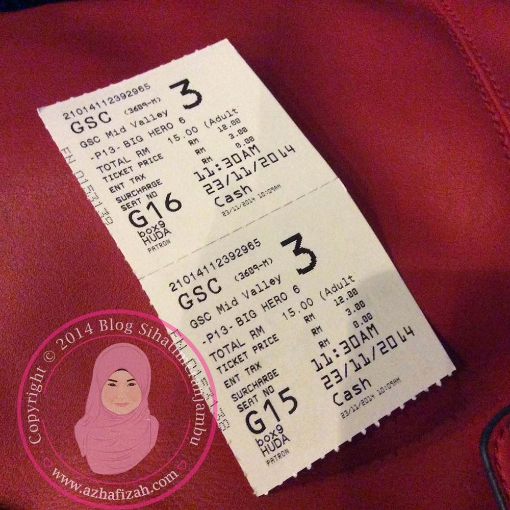 Big Hero 6 Ticket