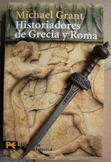 Portada del libro Historiadores de Grecia y Roma, de Michael Grant