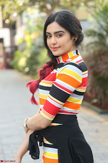 Adha Sharma in a Cute Colorful Jumpsuit Styled By Manasi Aggarwal Promoting movie Commando 2 (58).JPG