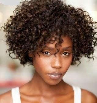 Rápido y fácil peinados de negras Imagen de ideas de color de pelo - Moda Cabellos: Peinados Rizos cortos para mujeres negras