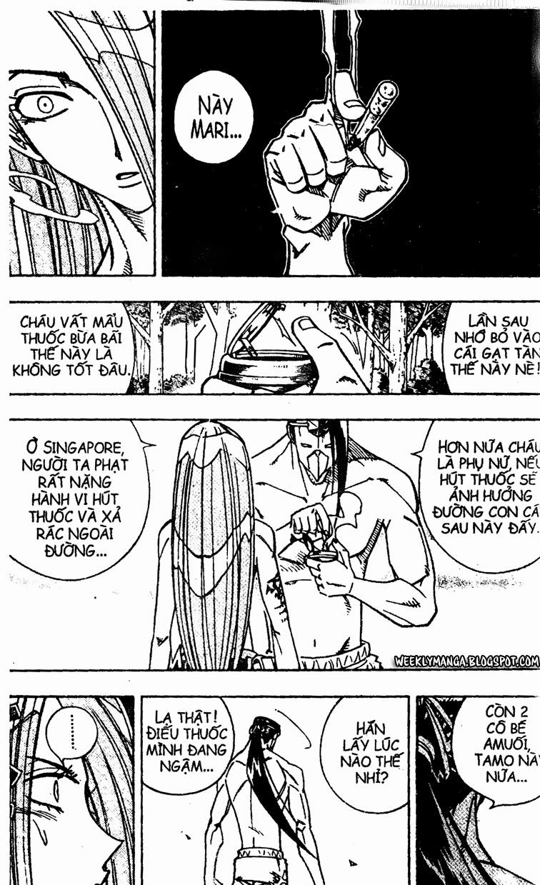 Shaman King [Vua pháp thuật] chap 161 trang 8