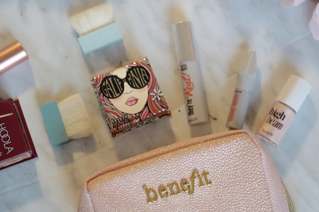 benefit travel sized products