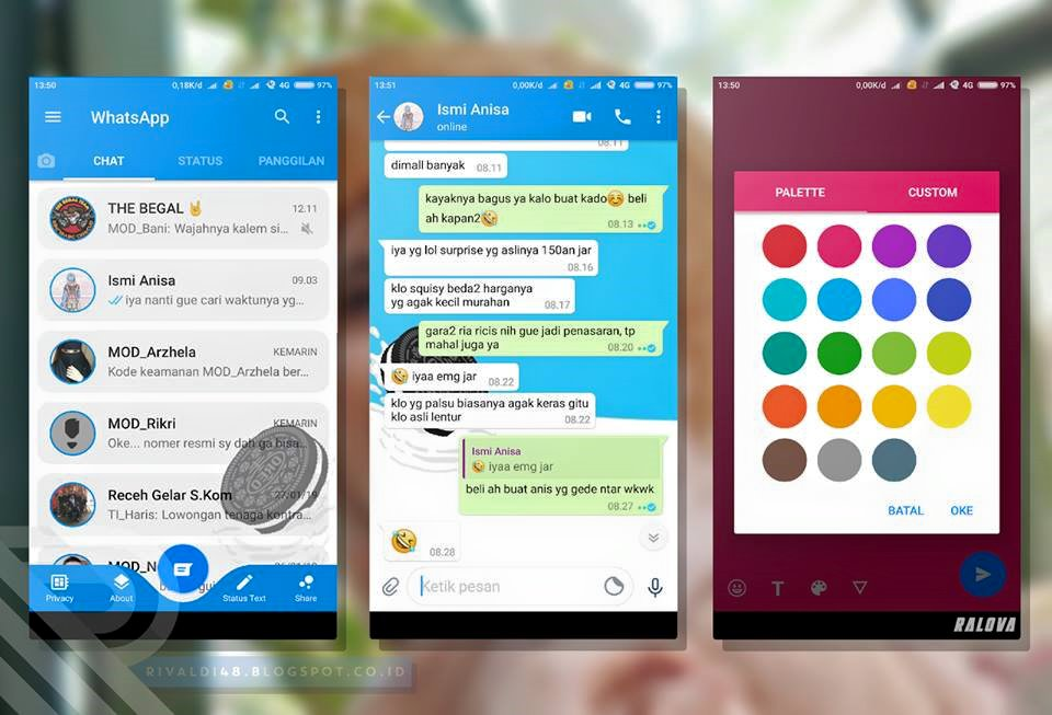 WhatsApp Mod OREO