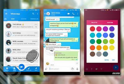 WhatsApp Mod OREO 2.19.17 New Fitur CUSTOM COLOR STATUS TEXT