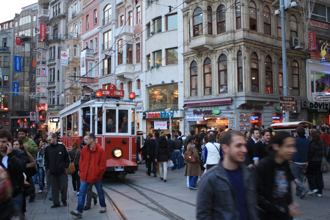 TURKEY - ISTANBUL: ISTIKLAL CADDESI ~ Beautiful places of ...