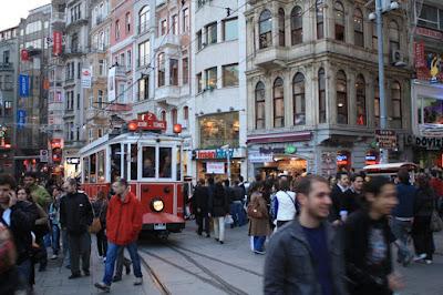 Istiklal Caddesi in Istanbul