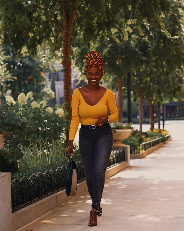 kiitana afro outfit