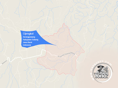 PETA : Desa Cijengkol, Kecamatan Serang Panjang