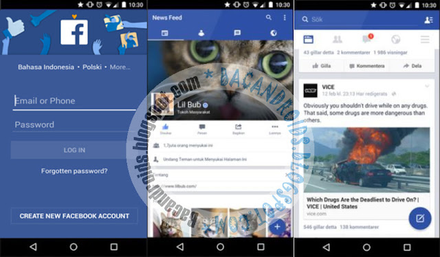 Facebook Mod Apk With Messenger Include Terbaru v98.0.0.0.7 Alpha