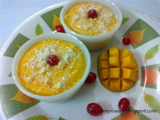 How to Make Mango Mousse Dessert Recipe