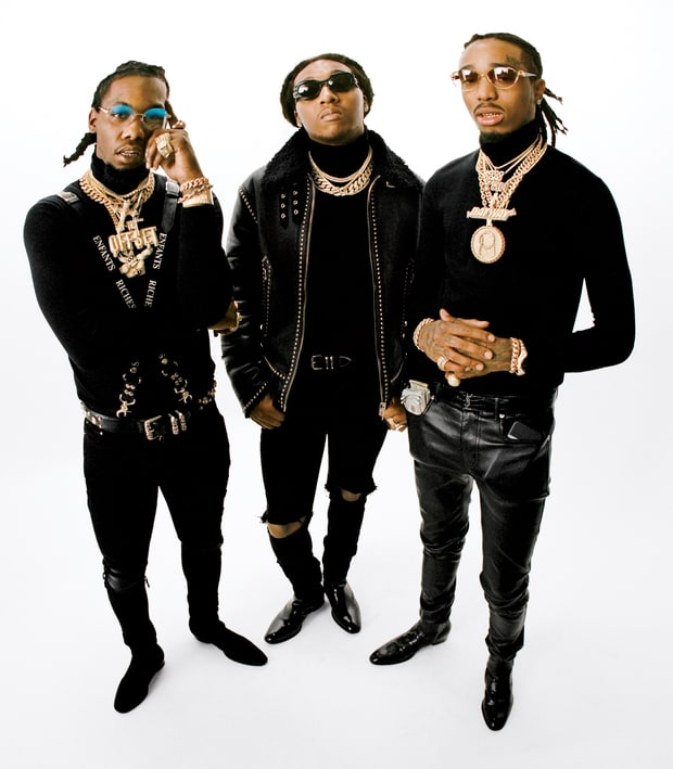 Migos Rolling Stone Interview Talks Cardi B Wedding: MIGOS COVERS ROLLING STONE: TALKS 'CULTURE II,' CARDI B