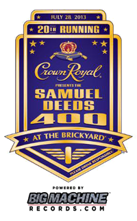 Crown Royal Presents the Samuel Deeds 400 #NASCAR