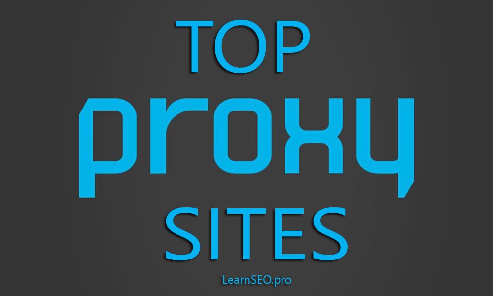 list of top proxy servers