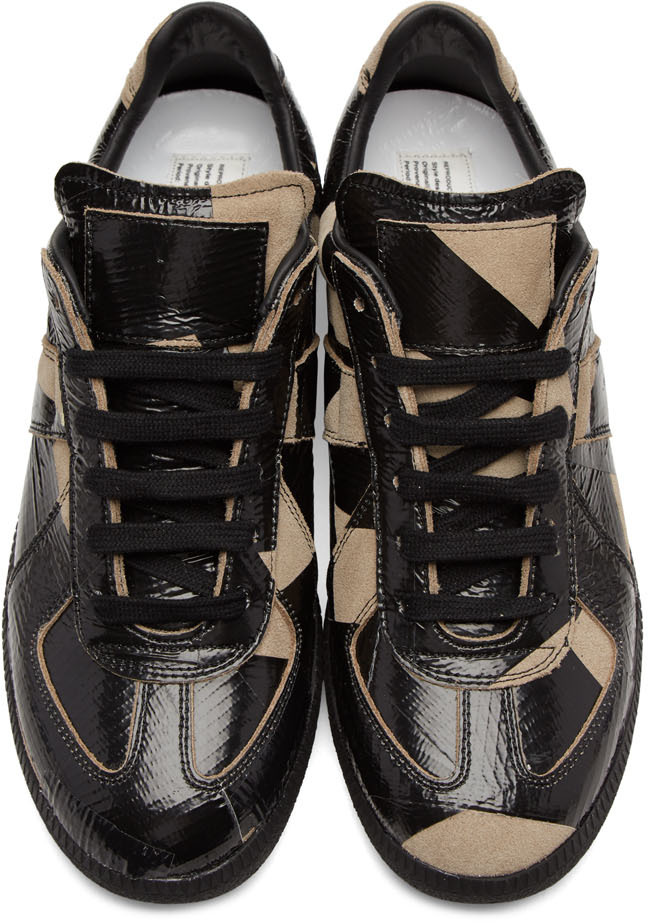 All taped up maison martin margiela tape replica sneakers for Replica maison martin margiela