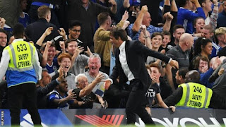 Chelsea 2 West Ham United 1  - Diego Costa Late Strike Ensures First Win For Conte