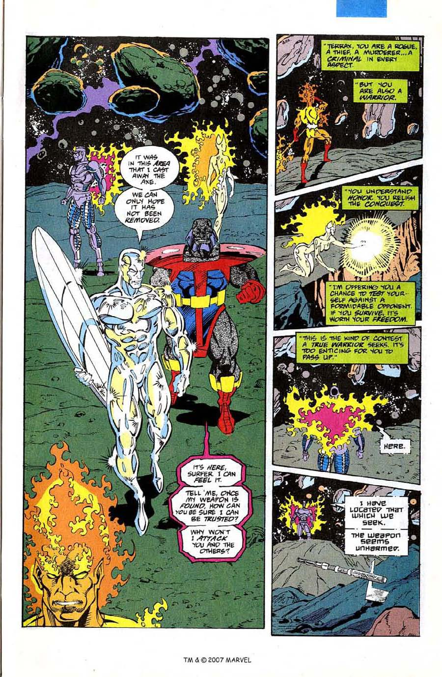 Read online Silver Surfer (1987) comic -  Issue #74 - 29