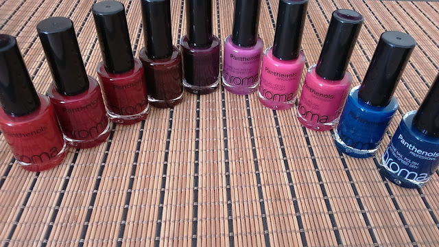 Panthenols Chroma Professional Extra Shine Nail Polishes