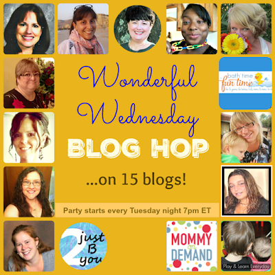 blog hop, link up
