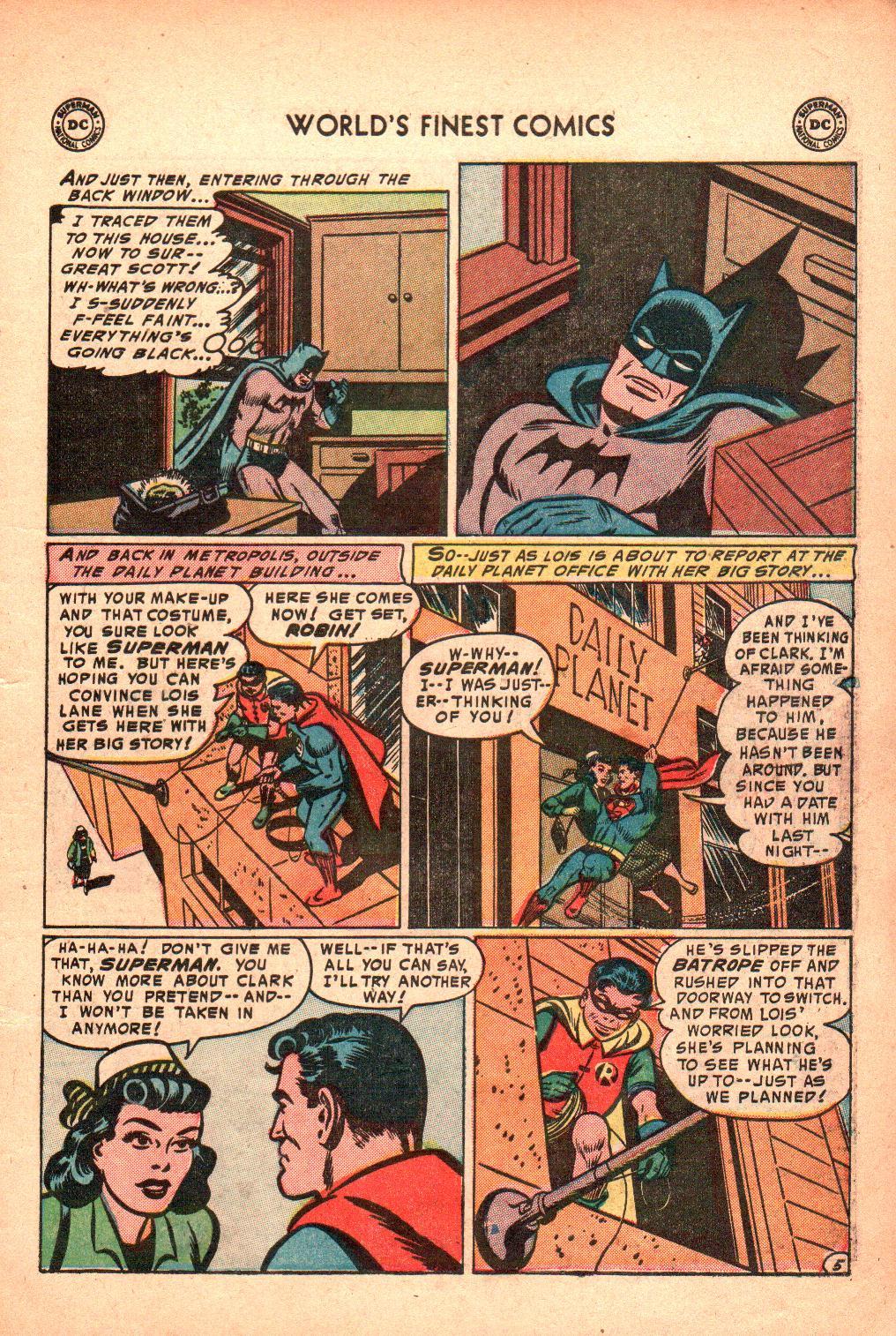 Read online World's Finest Comics comic -  Issue #71 - 9