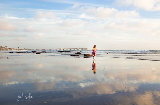 Juli Isola Photography ~ San Clemente Beach Photographer: The place where heaven and earth meet