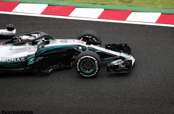 Hamilton avoids accident to top Japanese practice