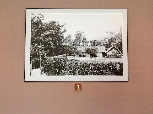 Nhà của cụ Hoàng Xuân Đường ở làng Hoàng Trù