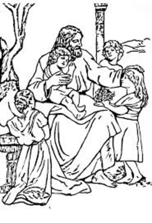 freee downloadable christian coloring pages - photo#10
