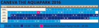 Calendario Caneva 2016
