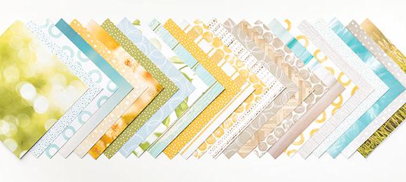 Serene Scenery Designer Paper