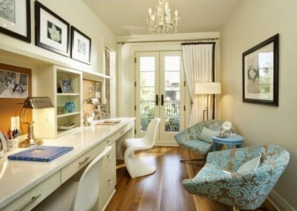 Ideas de peque as oficinas en casa colores en casa - Decoracion oficina pequena ...