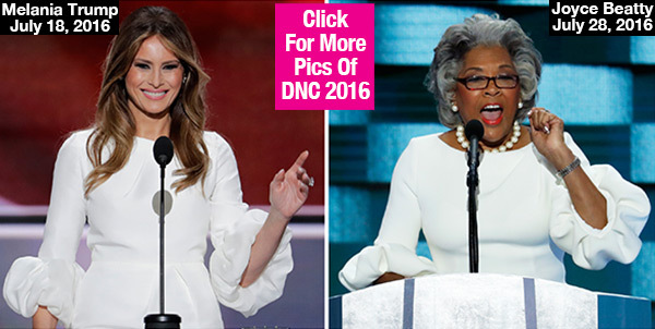 Melania Trump Trolled At DNC: Did Joyce Beatty Wear The Same Dress As Her? See Pic