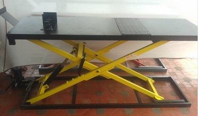 Two Wheeler Service Ramp - Bullet Ramp