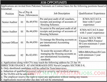 Private Jobs in Islamabad 2019, Auditor, Accountant Jobs in Islamabad 2019