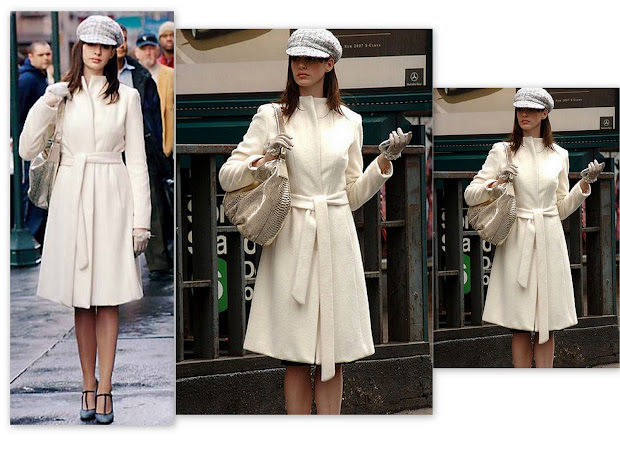 Style-delights Longing Winter White Wool Coat