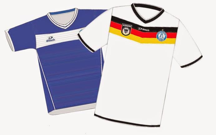 69a6c9c2f6 Camisa reversível do Aimoré e da Alemanha será lançada somente após a Copa
