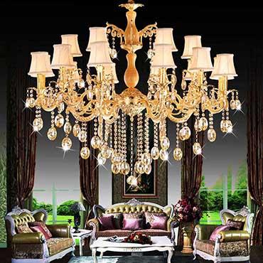 Mua đèn chùm cổ điển nhập khẩu giá rẻ, uy tín ở đâu tại Hà Nội