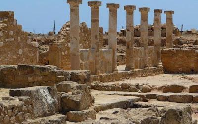 Άτομα με οπτική αναπηρία βλέπουν τις αρχαιότητες της Κύπρου