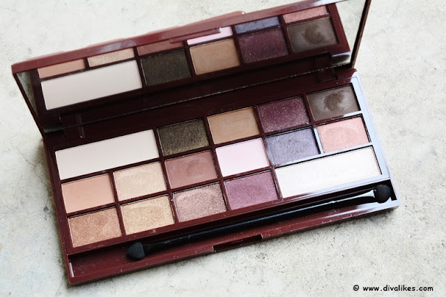 Makeup Revolution I Heart Makeup Wonder Palette I Heart Chocolate