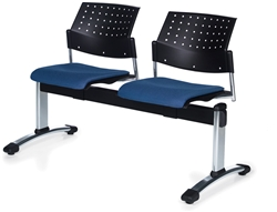 Global Sonic 2 person reception bench