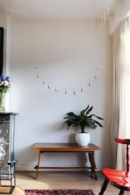 DIY veren slinger