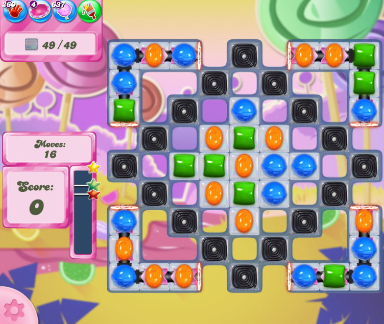 Candy Crush Saga level 2609