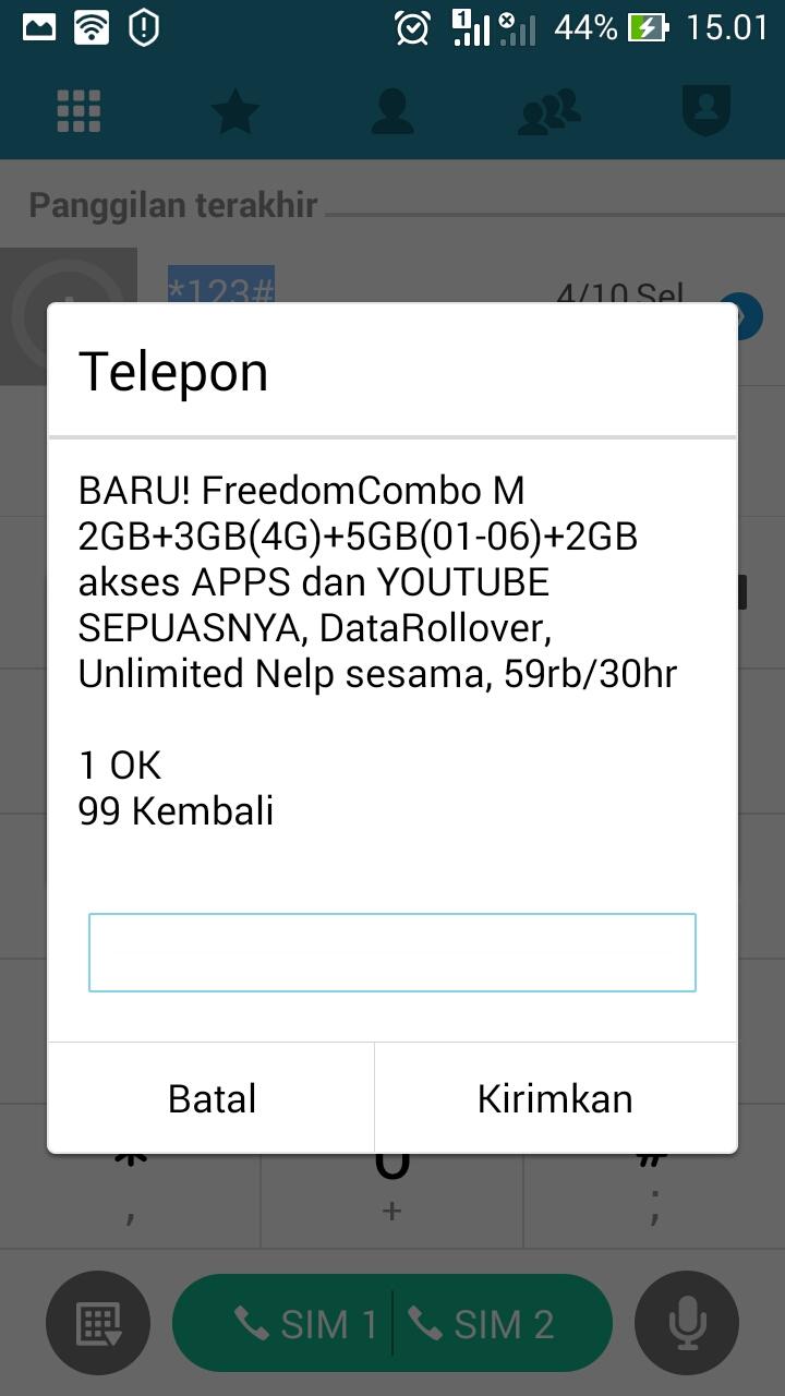 Paket Internet Im3 Indosat Ooredoo Murah Terbaru 2018 Nanda Hero Kuota Kode