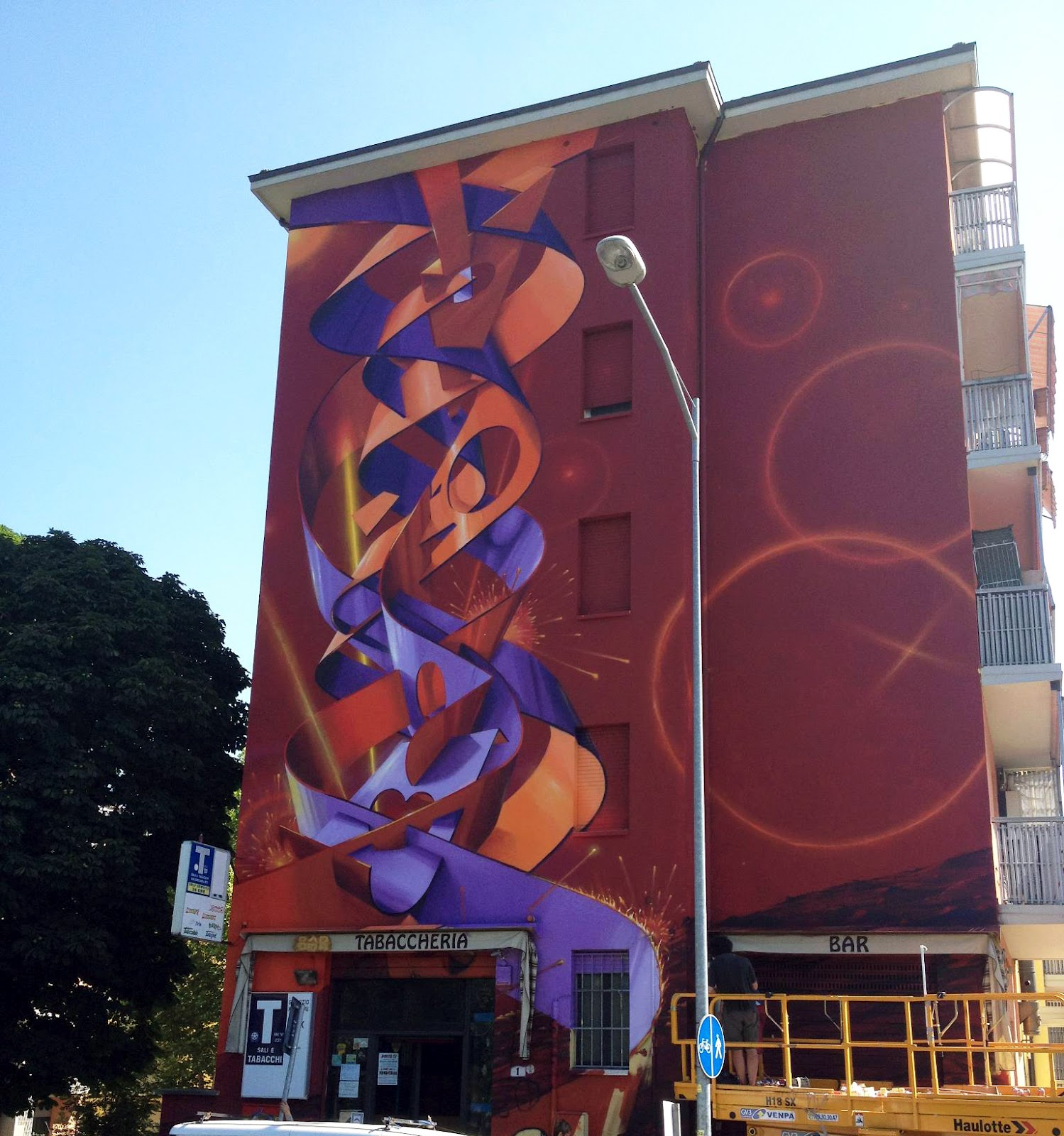 Dado new mural in bologna italy streetartnews for Dado arredamenti modena