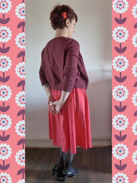 robe lindybop, style rétro