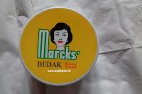 manfaat bedak marcks untuk jerawat dan kulit www.angklinjohn.id